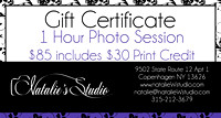 One Hour Gift Certificate