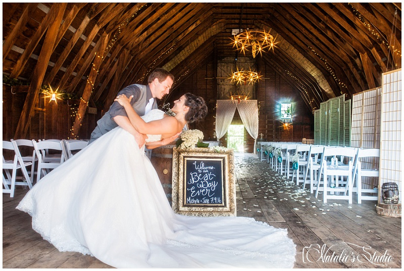 Teal And Pink Rustic Wedding At 1000 Islands Winerythousand Winery Photography Warren