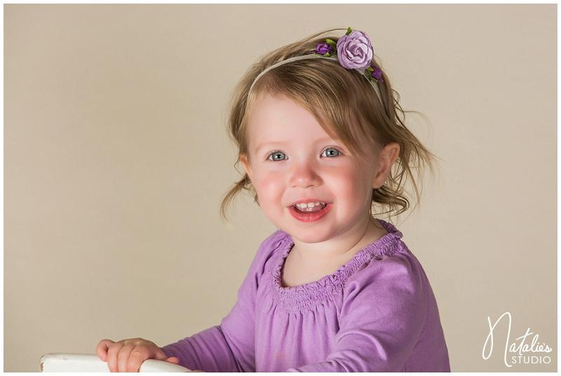natalie s studio purple and green newborn baby girl photography