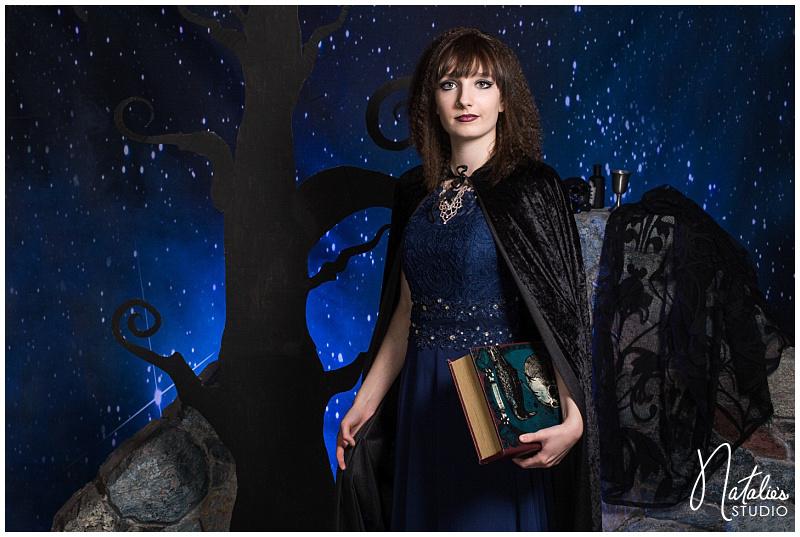 Witchcraft Tim Burton Photo Shoot