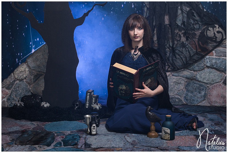 Witchcraft Tim Burton Photo Shoot